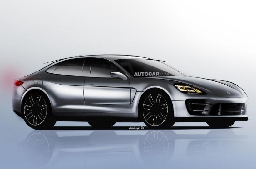 Porsche Pajun, surgen nuevos detalles de la berlina alemana