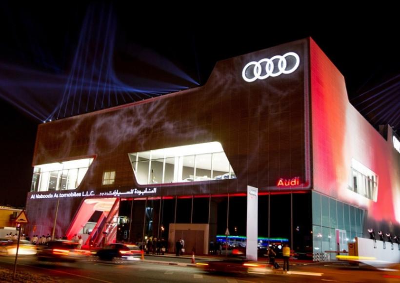 El concesionario Audi más grande del mundo
