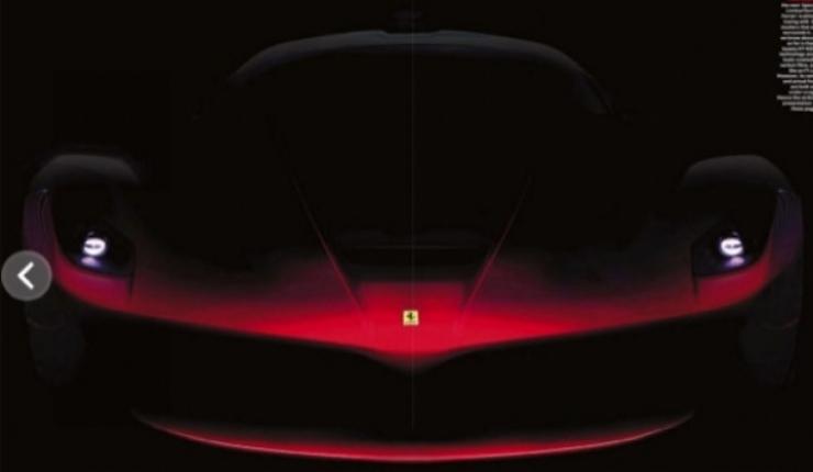 Ferrari anticipa al sucesor del Enzo