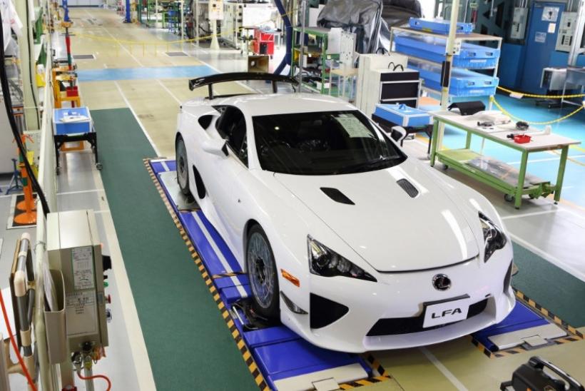 Lexus culmina la producción del deportivo LFA