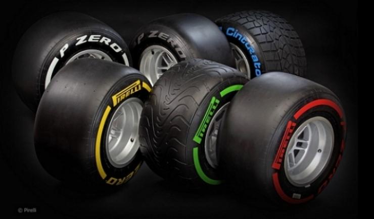 Neumáticos Pirelli para el 2013