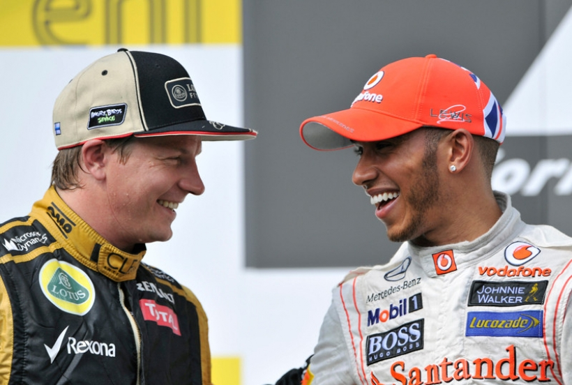 Raikkönen no cree que Hamilton pueda hacer más rápido al Mercedes