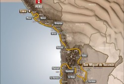 Un recorrido de 14 etapas y 8.500 km para el rally Dakar 2013