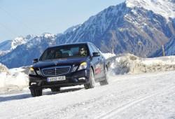 Experiencia 4MATIC de Mercedes-Benz, ponte a prueba en una montaña nevada