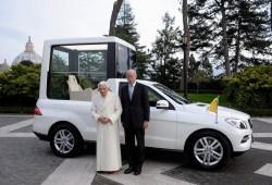 El Papa Benedicto estrena un Mercedes-Benz ML