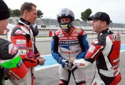 ¿Qué hacían Michael Schumacher y Pol Espargaró juntos en Paul Ricard?