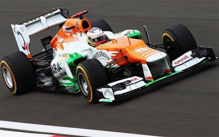 Force India y su nuevo coche