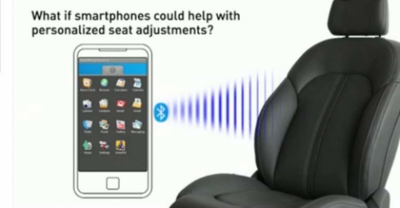 Configura los asientos por Bluetooth