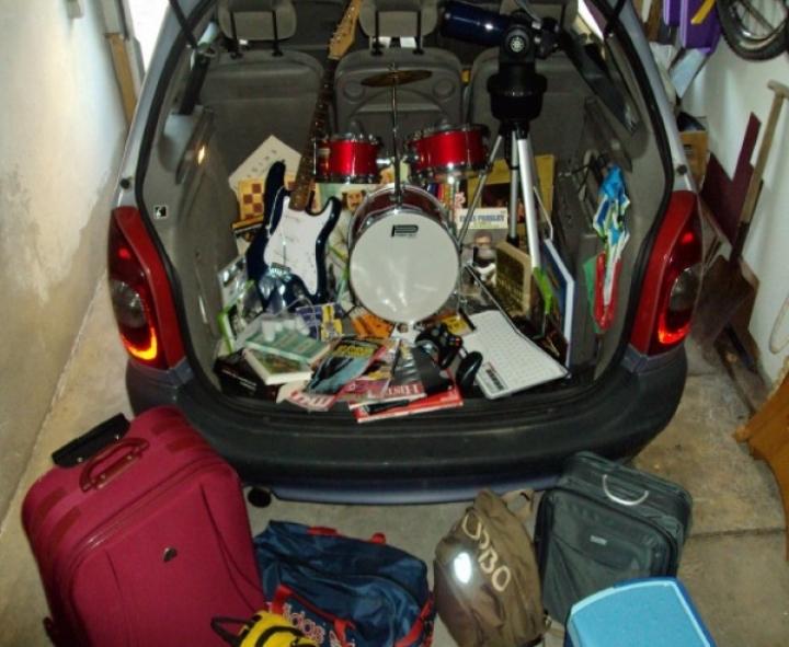 Cómo colocar el equipaje