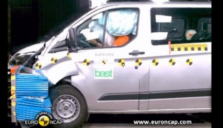 Pobres resultados de las vans en las pruebas EuroNCAP