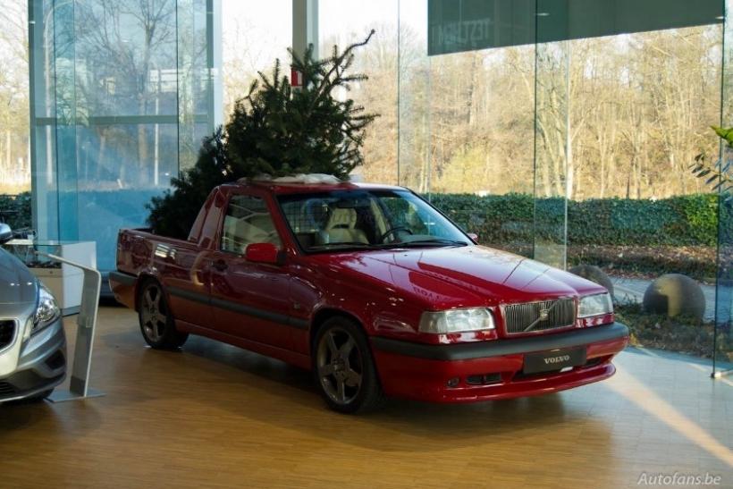 Volvo 850 T-5R Pickup, espíritu navideño
