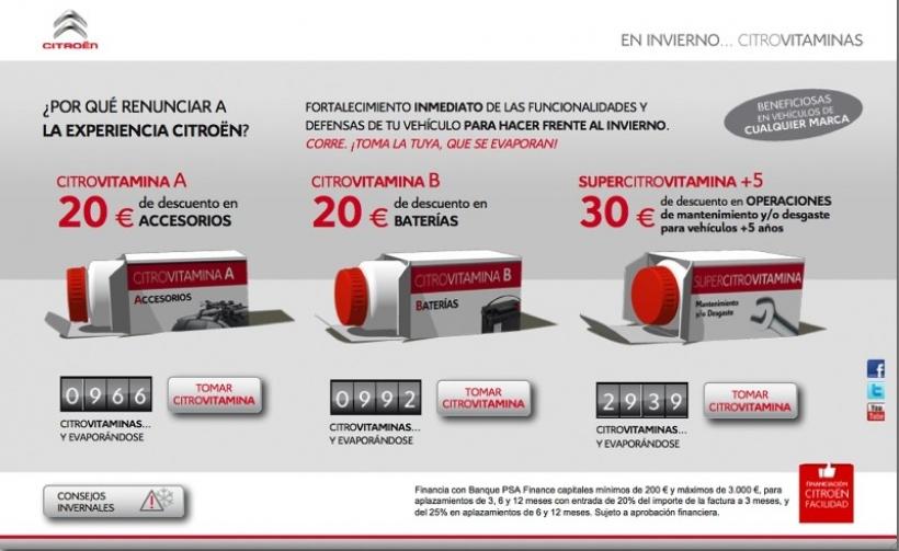 Las vitaminas de Citroën para hacer frente al invierno