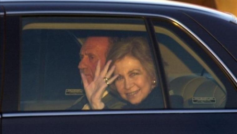 El Rey tendrá 27 coches menos en la flota de Casa Real