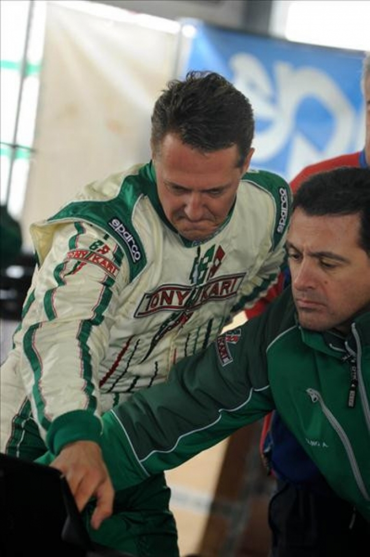 Schumacher correrá en kartings con Tony Kart