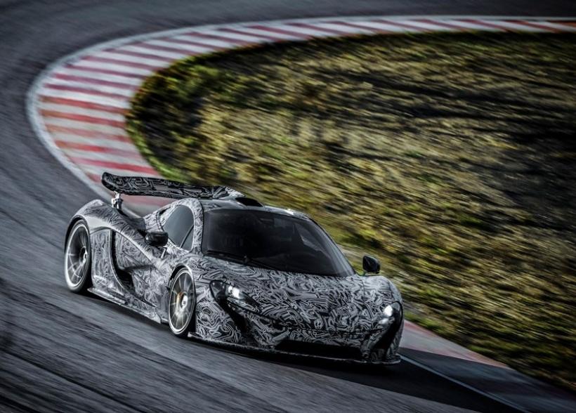 El nuevo McLaren P1 sigue adelante con su desarrollo