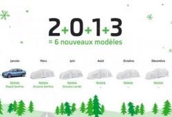 Skoda lanzará seis nuevos modelos en 2013