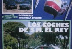 Las leyendas de Don Juan Carlos I con los coches