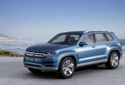 Volkswagen presentó el CrossBlue Concept en Detroit