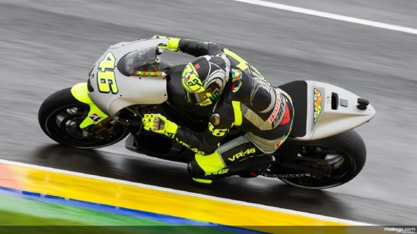 El vídeo del retorno de Valentino Rossi a Yamaha