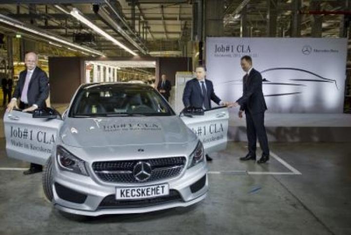 Mercedes fabrica el primer CLA en Hungria