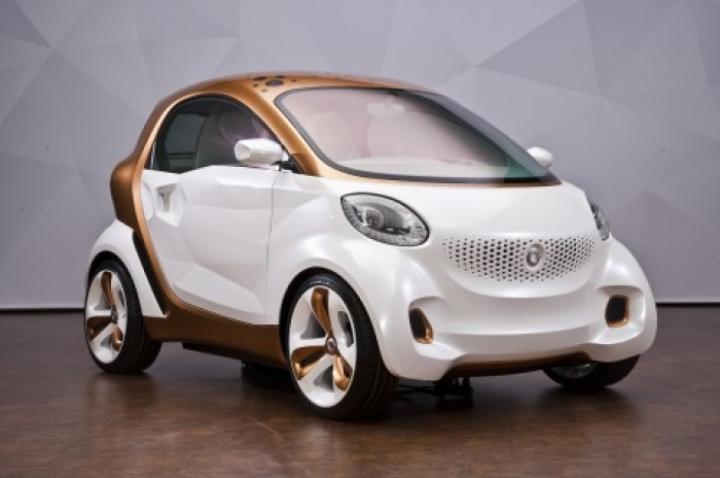El nuevo Smart ForTwo será más grande y amplio