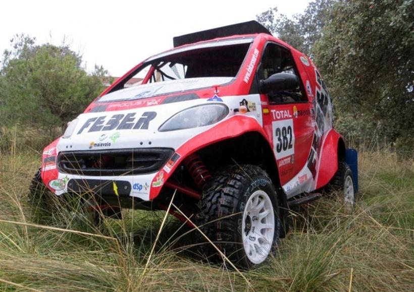 A la venta el buggy con el que Smart no pudo participar en el Dakar