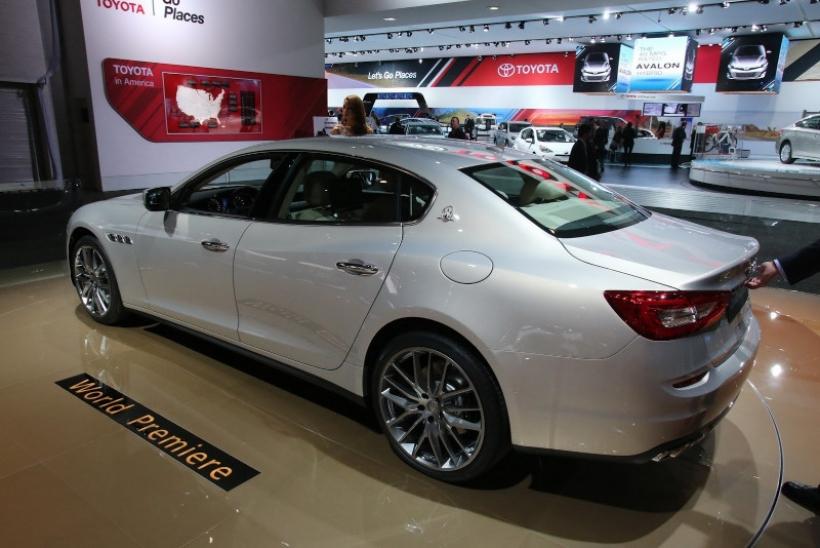 Maserati presentó el Quattroporte 2014 en Detroit