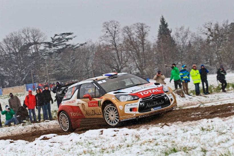 Rally Montecarlo 2013: segunda etapa con Loeb al frente