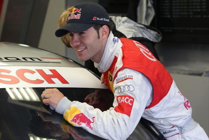 Miguel Molina mantiene su asiento en Audi