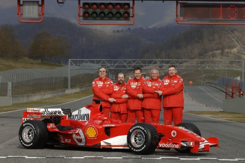 Rory Byrne: el clavo ardiendo de Ferrari para 2014