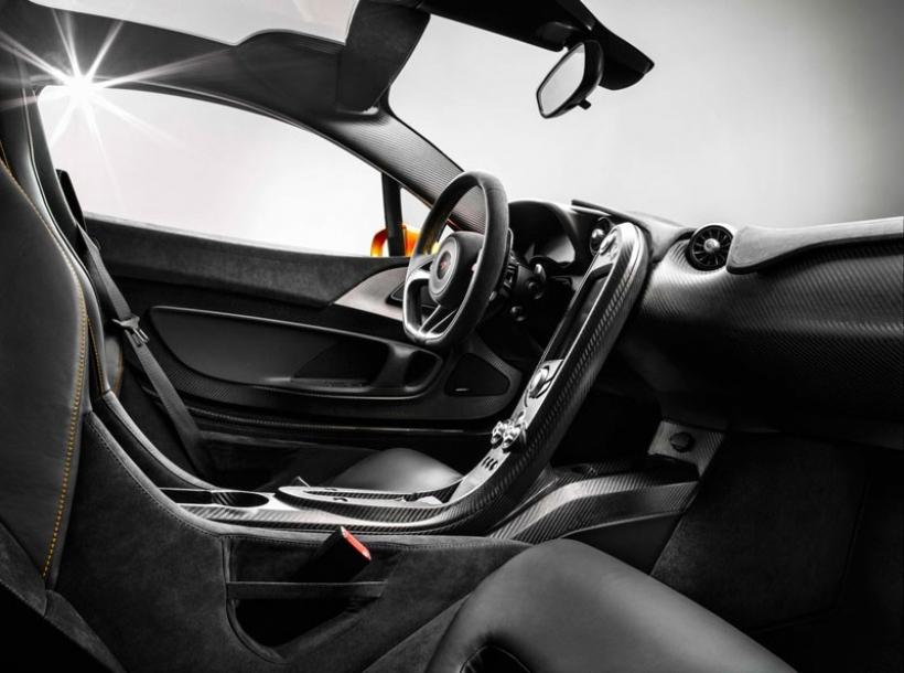 Así será el interior del McLaren P1