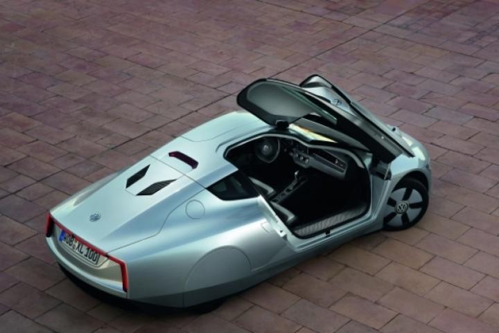 Volkswagen XL1: el coche que consume menos de 1 litro a los 100km