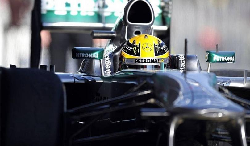 Lewis Hamilton, satisfecho con los progresos del F1 W04