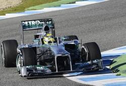 Rosberg ve un gran salto de calidad en el F1 W04