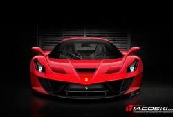 Posible cara para el nuevo Ferrari F70, sucesor del Enzo