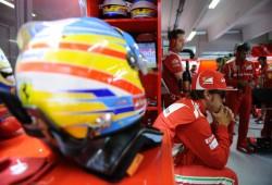 Fernando Alonso es cuarto y Vettel primero por la mañana