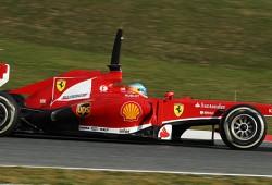 Fernando Alonso, el más rápido de esta mañana en el tercer día de tests