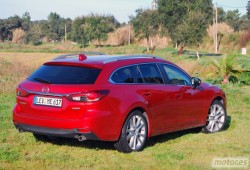 Mazda 6 Wagon 2.5 Skyactiv-G 192 CV AT Luxury. Dispuesto a triunfar
