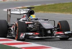 Sauber: día complicado con los neumáticos Pirelli
