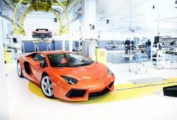 Así nacen los Lamborghini