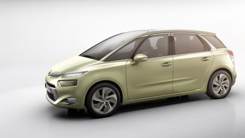 Citroën anticipa el futuro C4 Picasso con el concept Technospace