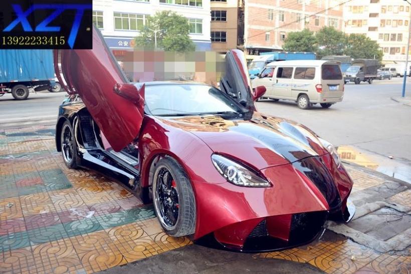 El Mercedes-Benz SLK más extremo viene de China