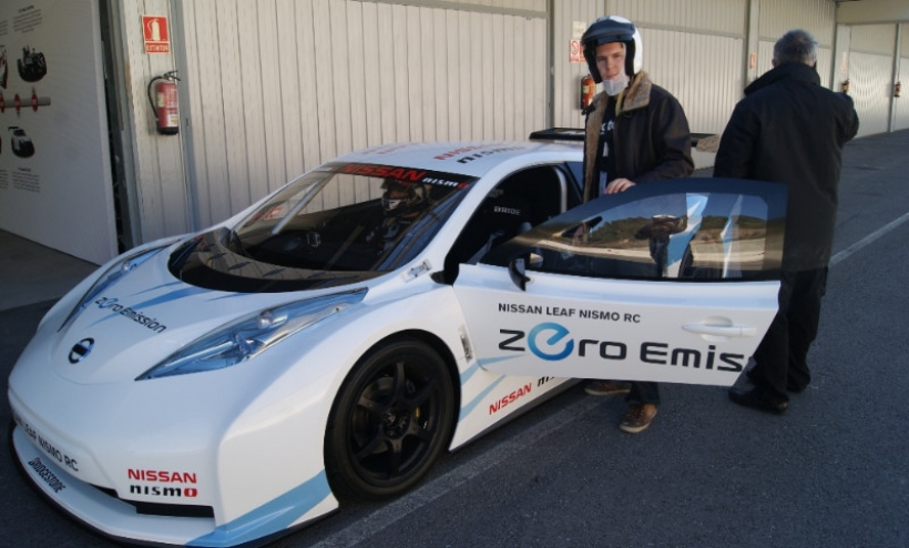 Nissan Leaf Nismo RC, lo probamos en Castellolí