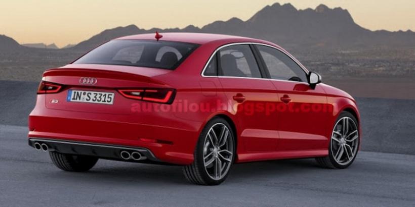Primeras imágenes del Audi S3 Sedan de producción