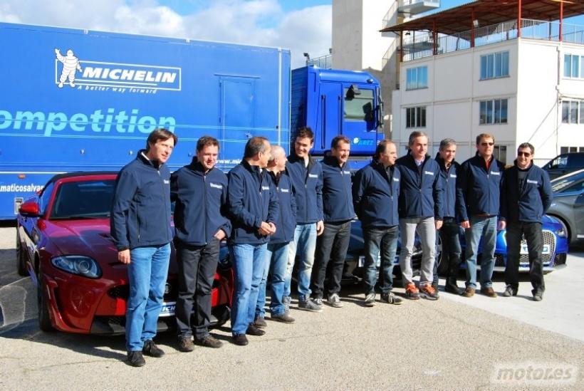 Michelin reúne a once Campeones de España de Rallyes para promover la seguridad vial