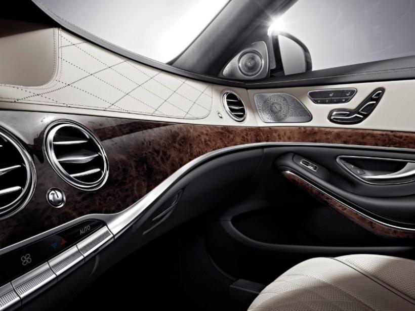 Así es el interior del nuevo Mercedes Clase S
