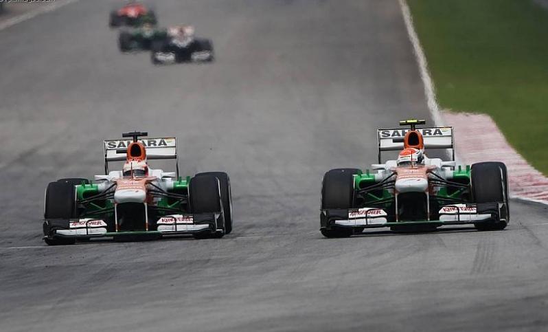 Force India y las tuercas. Un domingo nefasto