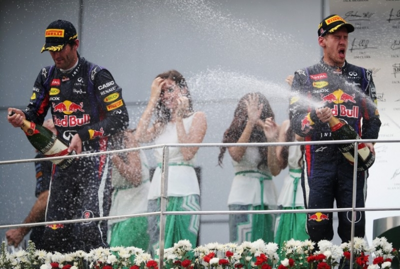 Red Bull resolverá la disputa entre Vettel y Webber ''internamente''