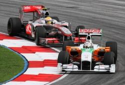 Lewis Hamilton: ''Recé por la vuelta de Sutil''