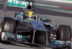 Hamilton logra el mejor tiempo de la pretemporada